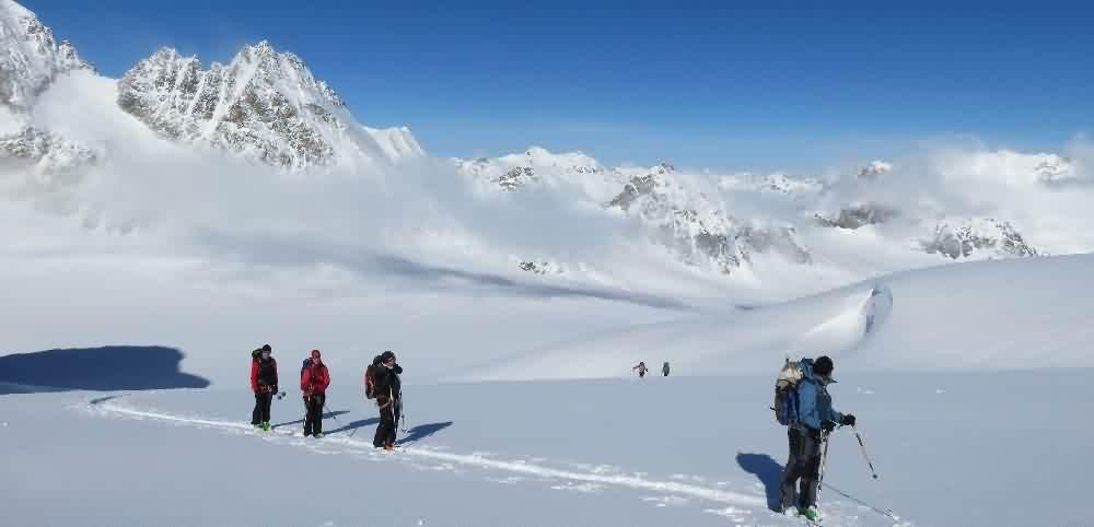 Arolla-Zermatt à skis