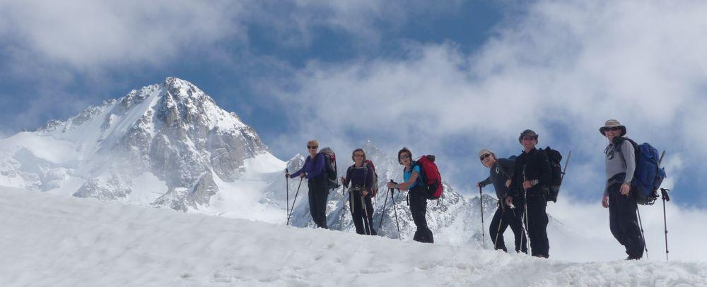 Haute-route Chamonix Zermatt en été 7 jours