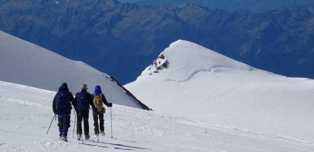 Des sommets du Mont-Rose en 2 jours