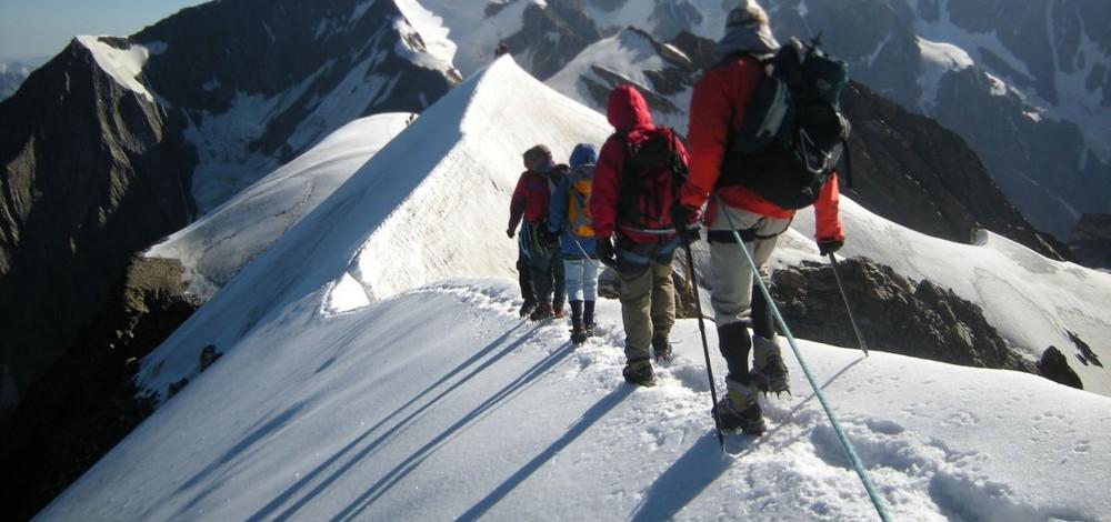 Stage autonomie neige et glaciers