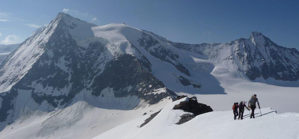 Alpinisme autour d'Arolla