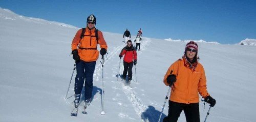 Ski de randonnée en 2 jours au Grand Massif