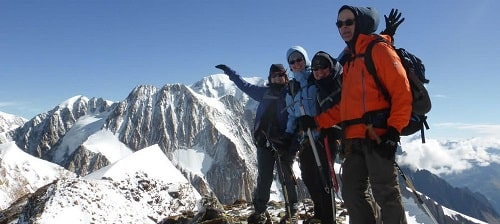 Initiation alpinisme au refuge Robert Blanc