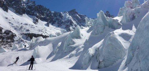 Descente de la Vallée Blanche