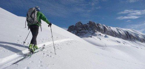 Ski de randonnée à la journée aux Contamines