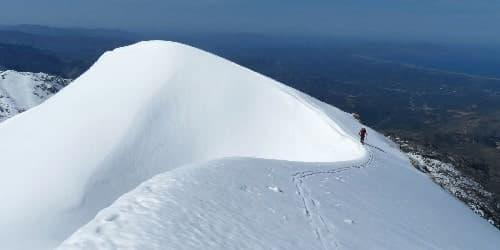 Ski en Crète avec Alta-Via