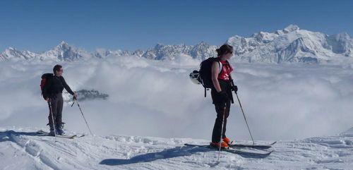 Ski de rando à la journée ou demi-journée à Flaine